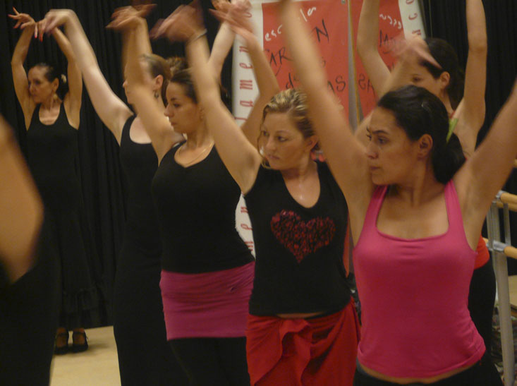 Flamenco courses for groups
