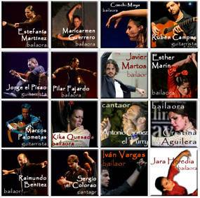 Flamenco Teachers and courses