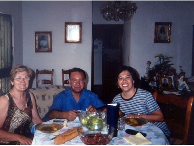 Spanish host family (double room)