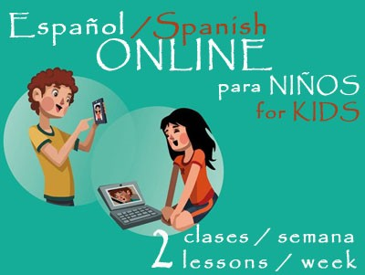 Spanish for Kids 2 lessons/week ONLINE