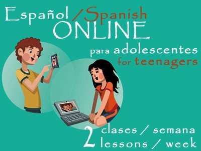 Spanish for Teenagers 2 lessons/week ONLINE