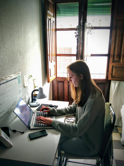 Teleworking in Granada