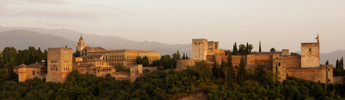 View of Alhambra de Granada